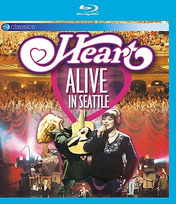 Heart - Alive in Seattle (Blu Ray) SEALED