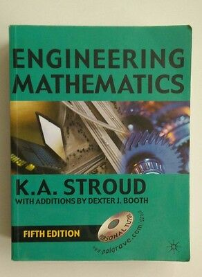 Engineering Mathematics K A Stroud Fifth Edition Book ONLY