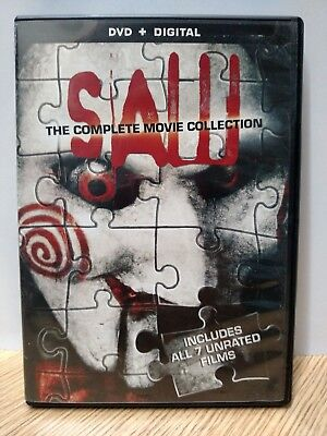 ** Saw: The Complete Movie Collection (DVD) - Free Shipping!