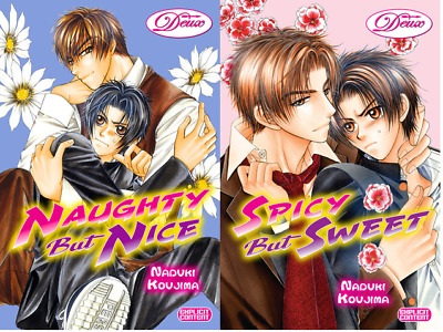 Naughty but Nice and Spicy but Sweet Yaoi (Deux Press)