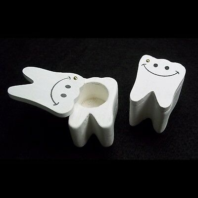 Baby Teeth Holder - Wooden Tooth Box - Pack of 2