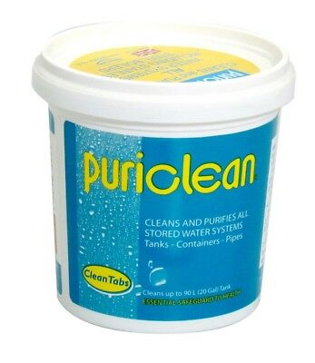 Puriclean Water Tablets - 100g - Pack of 12