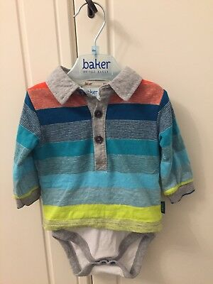 Baby Boys Ted Baker Top 0-3