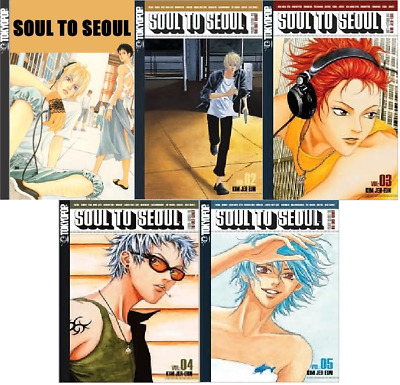 Soul to Seoul Complete Series (Volumes 1 - 5, TokyoPop)