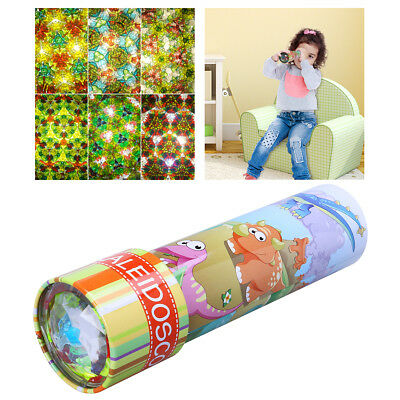 Kaleidoscopes Classic Science Toy Twirl Moving Scope Best Gift for Kid