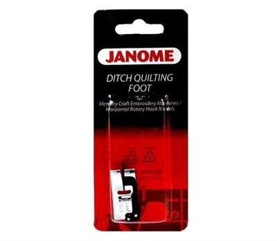 Janome Ditch Quilting Foot T/L 7mm