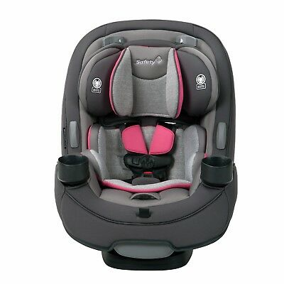 Safety 1st Grow and Go 3 In 1 Baby to Toddler Convertible Car Seat, Pink