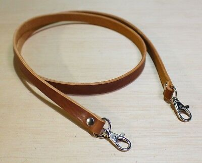 Genuine Real Leather Handmade Camera Strap Made in England 11mm & 18mm Wide