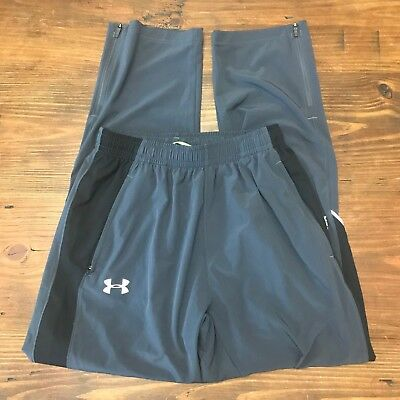 Under Armour Men's All Season Gear Fitted Dark Gray Track Pant Size Medium