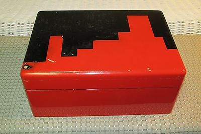 Deco Poker Chips Box Manner of Donald Deskey