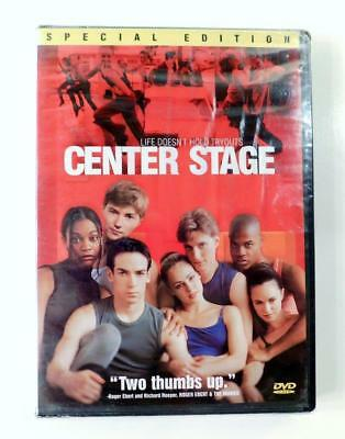 Center Stage (DVD, 2000, Special Edition) New & Factory Sealed