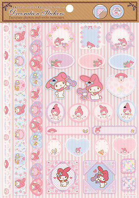 Sanrio My Melody Decoration Stickers