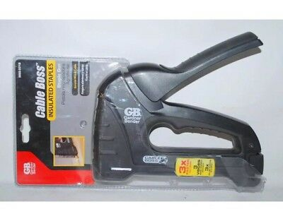 #49- Wire Stapler MSG 501 B Cable Boss Staple Gardner Bender Gun Guns Coax MN