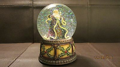 San Francisco Music Box Company Father Christmas Waterglobe - PreOwned