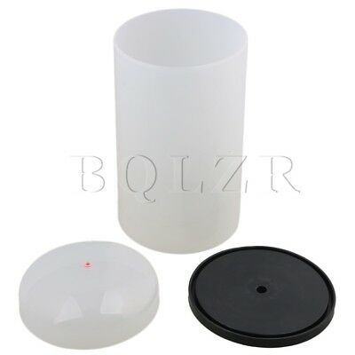 Surface Smoothly PVC 15x28cm Translucent Winder Coil Cover with Pedestal BQLZR
