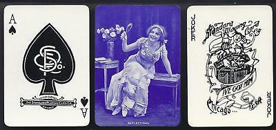 MINT Standard Society Brand Wide Named Playing Cards Reflections 1900