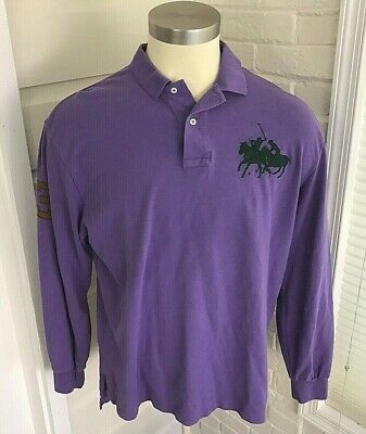 NWOT Big Men/'s Large /& In Charge Polo Shirt w// Pocket Size 2XL Purple #218R