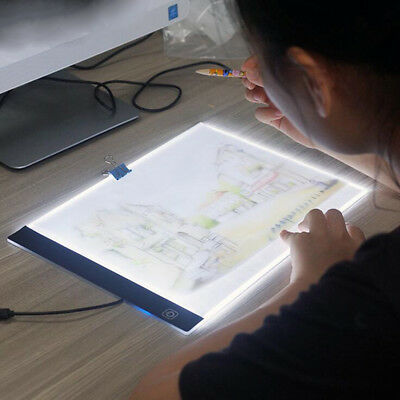 A4 LED Comic Anime Sketch Light Guide Drawing Tablets Pad 3 level Brightness