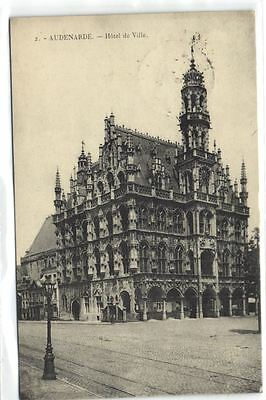 1 postkaart Oudenaarde Hotel City pc5559