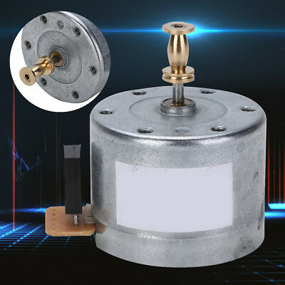 25MM Mounting Hole DC9-12V 3-Speed Turntable Gramophone Motor 33/45 78RPM Sliver