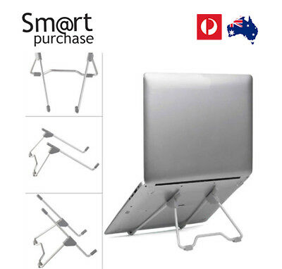 Bracket Laptop Notebook Mount Metal Stand Portable Travel PC Tablet Suport L