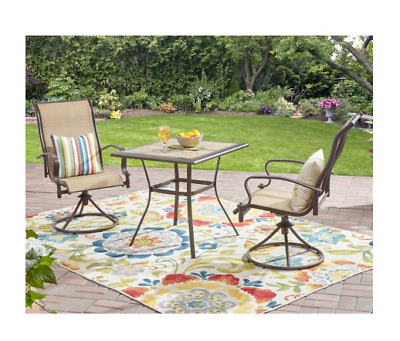 Patio Furniture Set Clearance Small Indoor Outdoor Porch Front Chair Bistro Set  sc 1 st  PicClick & PATIO FURNITURE SET Clearance Small Indoor Outdoor Porch Front Chair ...