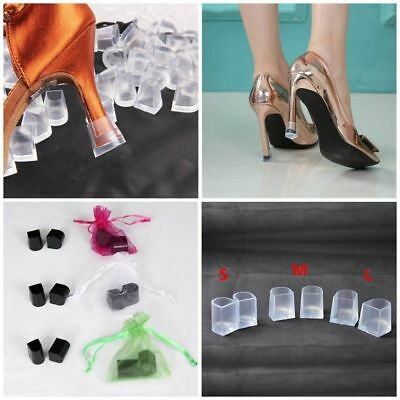 1 Pair Women High Heel Protectors Stopper Protect Heels Stiletto Shoes Cover