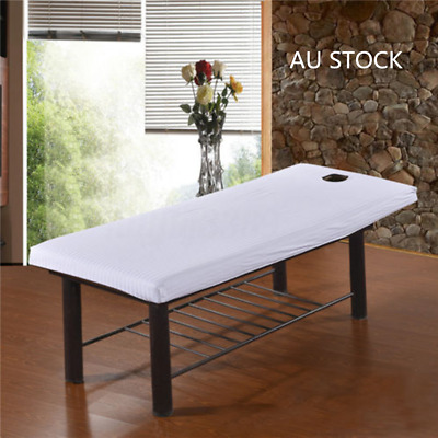 2X Beauty Massage SPA Bed Table Elastic Cotton Cover Sheets + Face Breath Hole