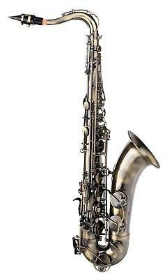 Tenorsax Saxophone Sax High F# Key Wind Instrument Brass Tenor Vintage Look Set