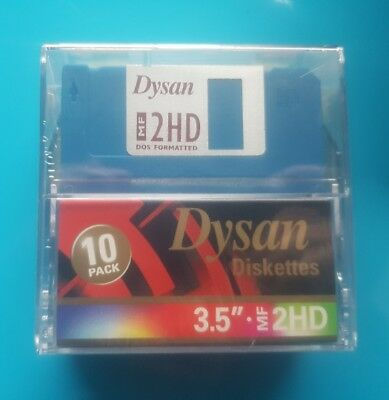 Dysan MF2HD Double Sided Diskettes (floppy discs)