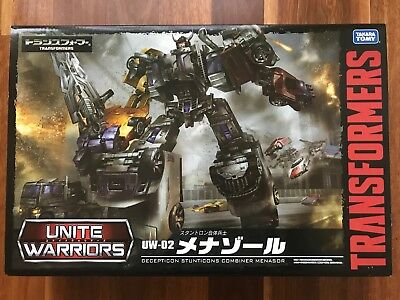 Transformers UW02 Unite Warriors Menasor By Takara Tomy *BNIB*