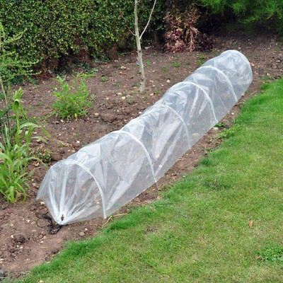 New Transparent Pe Poly Grow Tunnel Cloche Garden Allotment Seeds Plants Frost