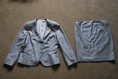 Womens grey skirt suit by ARMANI Collezioni Size 46 Ex cond