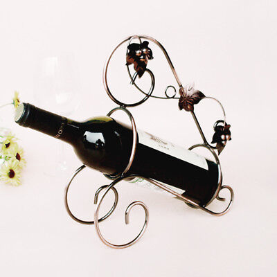1Pcs Guqin Beach Iron Wine Rack Portable Handmade Hot Creative Maple Leaf New