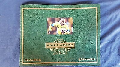 wallabies collectable sticker book