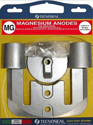 Mercruiser Outdrive MAGNESIUM Anode set -Bravo Two-Three (II-III) - Free P&P