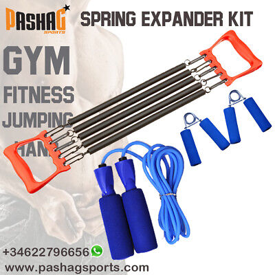 Spring Chest Expander Hand Gripper Jumping Rope Fitness Exercise Workout Home Gy