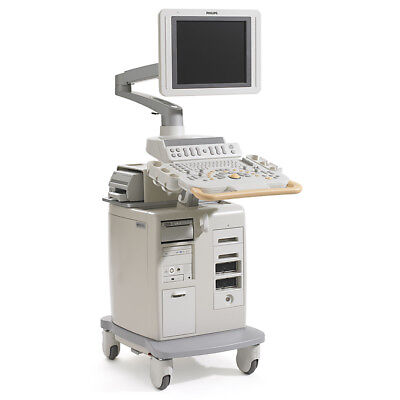 CVO PHILIPS HD11-XE Ultrasound System Shared Service Machine 1 Scanner Probe