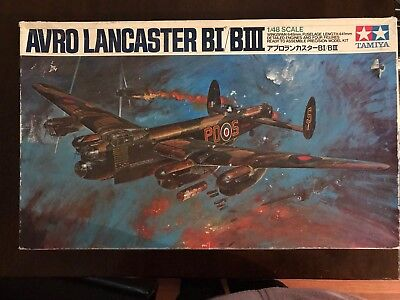 Tamiya Japan ' Avro Lancaster BI/BIII' 1:48 Scale. Kit No. MA120-3000.