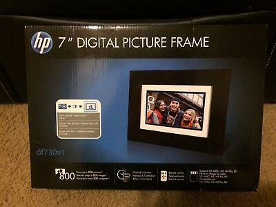 HP df730v1 7-Inch Digital Picture Frame Factory Sealed New