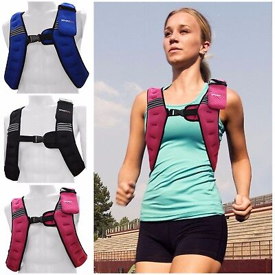 Weighted Vest 6kg Womens Weight Loss Home Gym Fitness Exercise Training Jacket