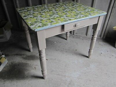 Antique Table, with one drawer