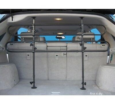 Universal Fitment Car Van 4X4 Estate Mpv Pet Dog Guard Boot Safety Barrier New