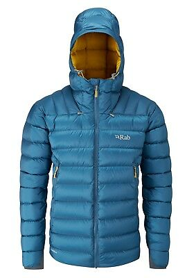 Rab Electron Down Insulated Jacket, Men's Ink / Mimosa