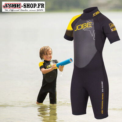 Combinaison Shorty Progress Youth Yellow 2,5mm Jobe - enfant - wake - bouée-skis