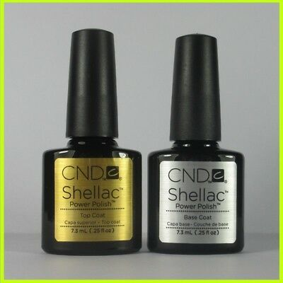 ORIGINAL CND Shellac UV Gel Nail Polish Best Gel Lamp Base Gel / Top Coat 7.3ml