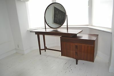 STUNNING VINTAGE TEAK DRESSING TABLE - 1960's