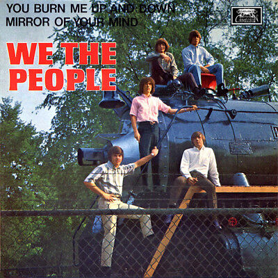 "WE THE PEOPLE You Burn Me Up And Down GREEN vinyl 7"" EP NEW garage punk psych"