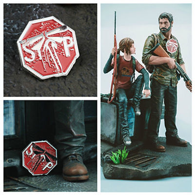 TLOU The Last of Us Part 2 Firefly Symbol Badges Pin Metal Brooches Cos Prop New