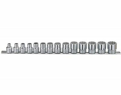 "Genius Tools 14PC 3/8""DR. SAE Hand Socket Set 12points - TW-314S"